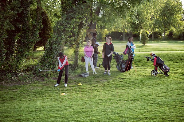 Russell Adams Golf Academy Gaudet Luce Hadzor Aniko towers Golf Photo-10