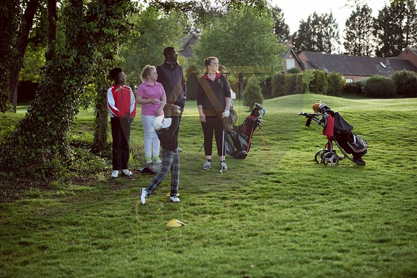 Russell Adams Golf Academy Gaudet Luce Hadzor Aniko towers Golf Photo-9