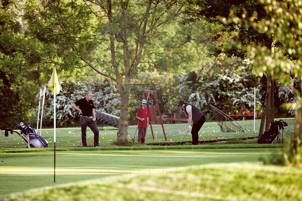 Russell Adams Golf Academy Gaudet Luce Aniko towers Golf Photo-100