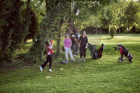 Russell Adams Golf Academy Gaudet Luce Hadzor Aniko towers Golf Photo-14