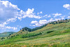 Cyclist in Yellowstone National Park's Lamar Valley - 2-Edit-Edit - 72 ppi