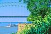 Downtown Memphis, Tennessee; Hernando De Soto Bridge across Mississippi River - 5 - 72 ppi