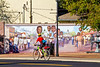 Cyclist at Civil Rights mural in Port Gibson, MS - D1-C1 -0108 - 72 ppi