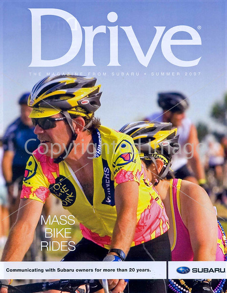 Subaru's Drive Magazine - Mass Bike Rides - cover