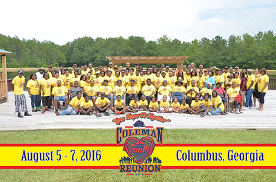 coleman Family 2016