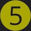 5 icon green