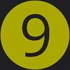9 icon green