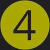 4 icon green