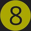 8 icon green