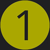 1 icon green