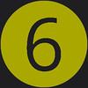 6 icon green
