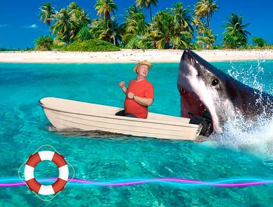 Shark Dinghy 2
