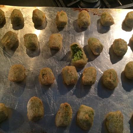 Broccoli Cheddar tots