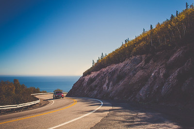 Cabot Trail, Cape Breton, Nova Scotia, Canada | October 2016