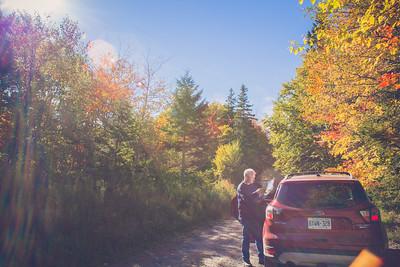 Cabot Trail, Cape Breton, Nova Scotia, Canada | October 2016