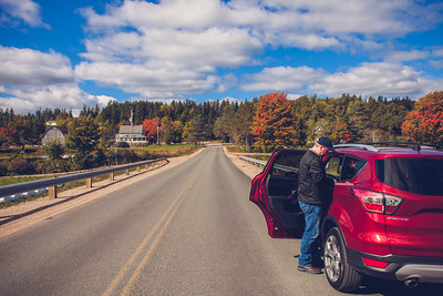 Margaree, Cape Breton, Nova Scotia, Canada | October 2016