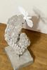 Untitled - plaster, cement, steel, and aluminium