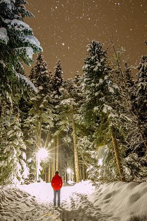 Whistler British Columbia - John Entwistle (Self Portrait)