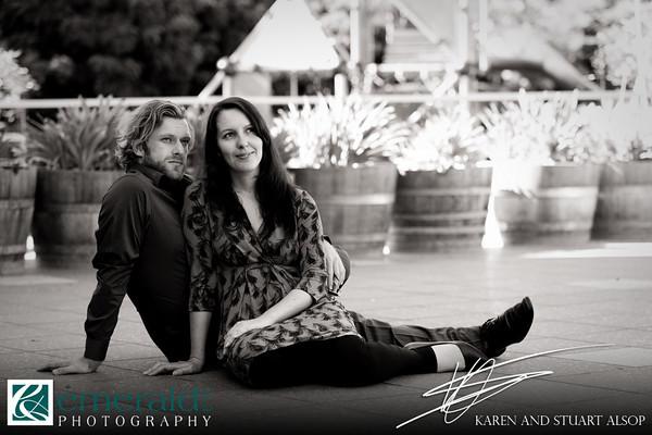 Kylie and Glynn