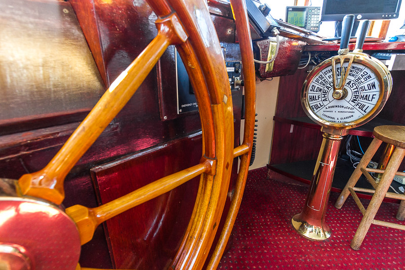 View of Traditional engine order telegraph - USA