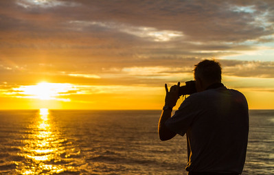 Man taking photo of nature - Mexico