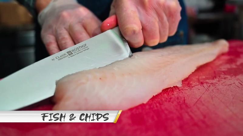 fish and chips no logo