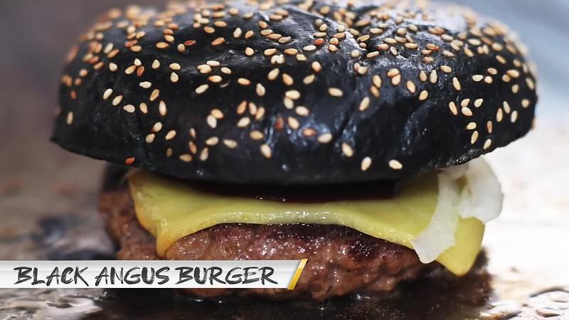 black angus burger with correct logo