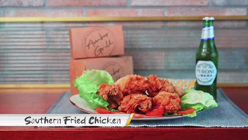 southern fried chicken no logo