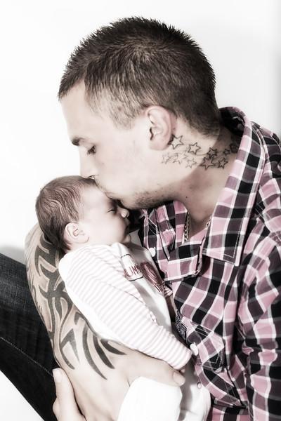 Carlie, Dan & Baby Brooke [017]