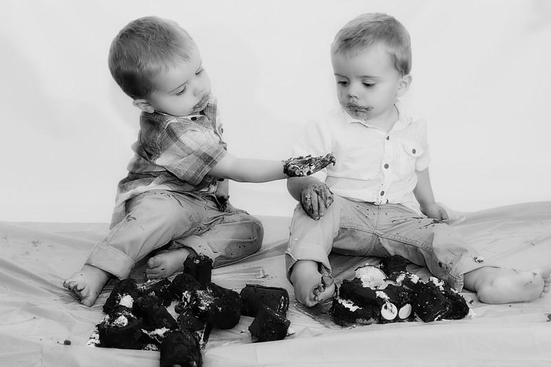 Cake Smash - Rowan & Riley 2nd Birthday - [094]