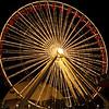 SQUARE VERSION Navy Pier ferris wheel