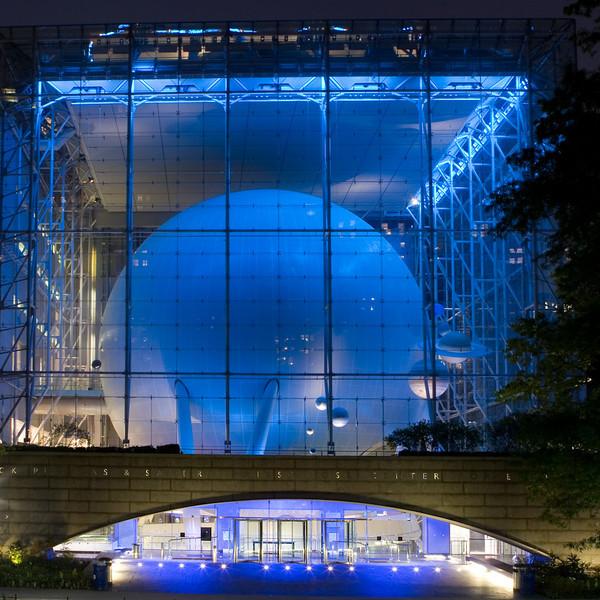 SQUARE VERSION Hayden Planetarium