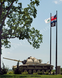 M60 Tank, George M. Reed Park Historic route 66, Waynesville, MO.