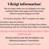 __Viktigt information