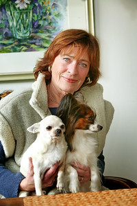 Bildreportage med Eva-Britt Strandberg för tidningen Härliga Hund