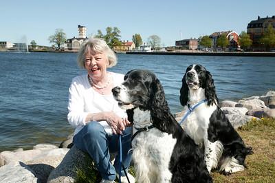 Bildreportage med Gunilla Åkesson för tidningen Härliga Hund