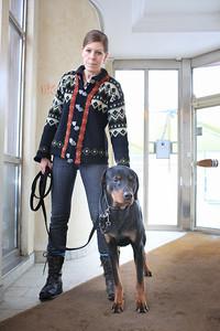 Bildreportage med Helena Rubank för tidningen Härliga Hund