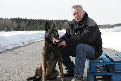 Bildreportage med Jerry Williams för tidningen Härliga Hund