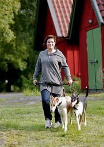 Bildreportage med Kim Kärnfalk för tidningen Härliga Hund