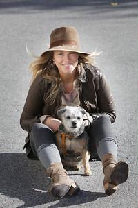 Bildreportage med Meja för tidningen Härliga Hund