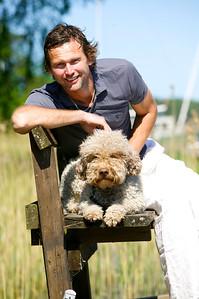 Bildreportage med Rickard Sjöberg för tidningen Härliga Hund