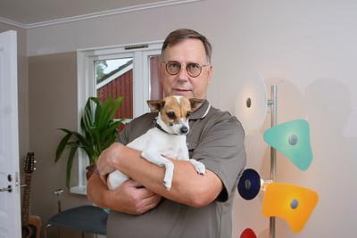 Bildreportage med Sven Melander för tidningen Härliga Hund