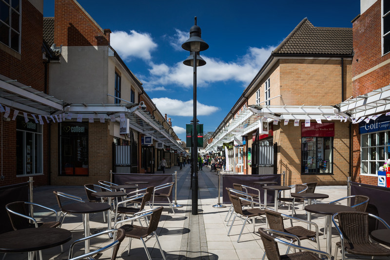 Springfields Shopping, Spalding, Lincolnshire