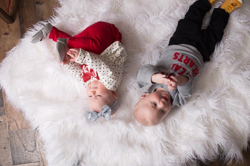 6 mo twins Lindsey Shewfelt (15 of 80)