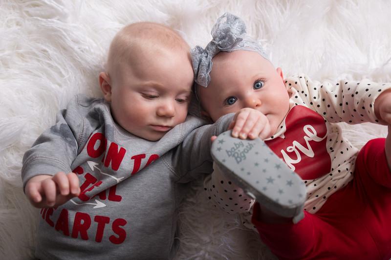6 mo twins Lindsey Shewfelt (21 of 80)