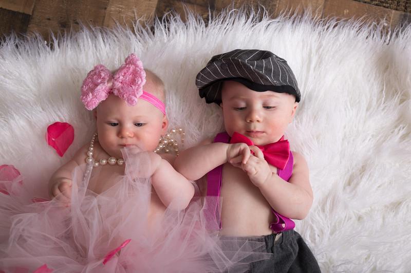 6 mo twins Lindsey Shewfelt (41 of 80)