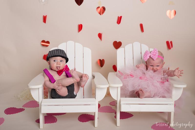 6 mo twins Lindsey Shewfelt (71 of 80)