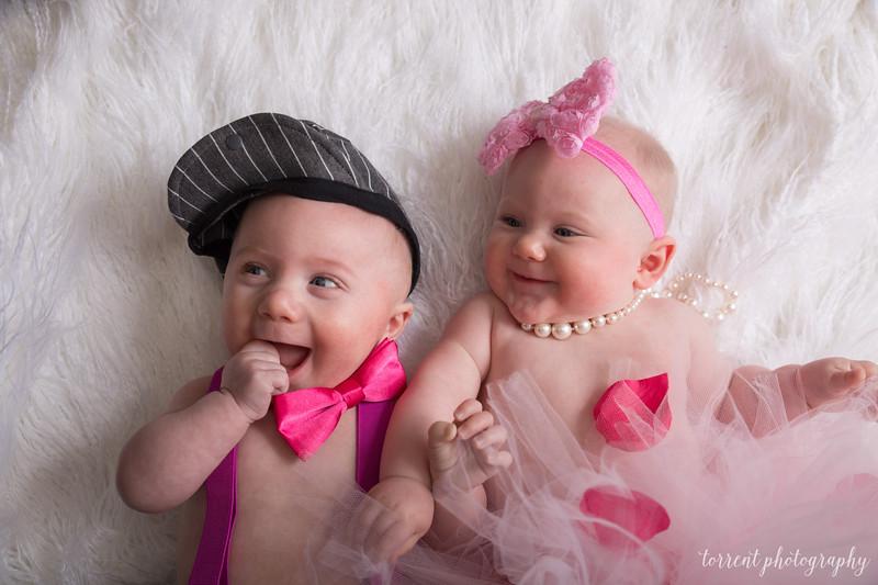 6 mo twins Lindsey Shewfelt (59 of 80)