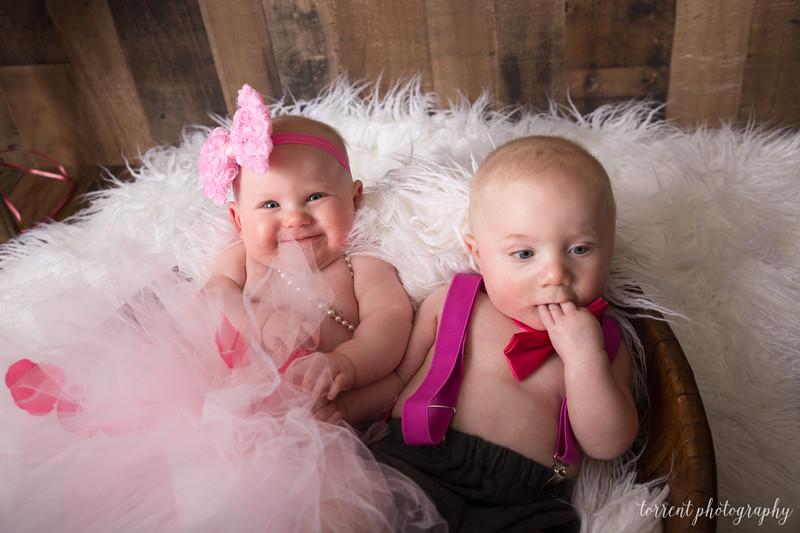 6 mo twins Lindsey Shewfelt (65 of 80)