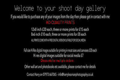 shoot pricing